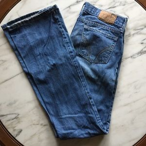 Hollister Cali Flare Jeans Size 5 Long
